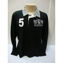 Ref 83-camiseta Beagle Masculina Polo Preta Com N° 5