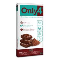 Chocolate Only4 Display Com 06 Unidades 80gr Vários Sabores