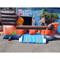Brincolin Inflable Barco Jake Y Los Piratas