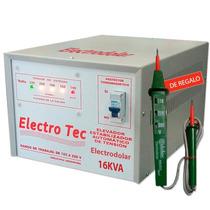 Elevador Automático De Tensión 16 Kva (r 160v) Estabilizador
