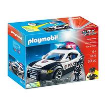 Playmobil Paquete Policía Patrulla Camioneta Y Helicoptero