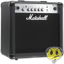 Cubo Amplificador Guitarra Marshall Mg15 Loja Kadu Som