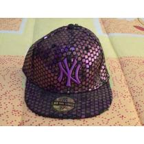 Gorra De Beisbol Morada Yankees De New York 7 1/8