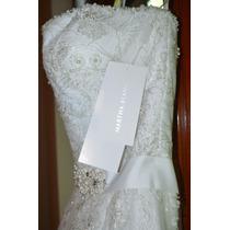 Vestido De Novia Nuevo Sin Alteraciones -martha Blanc