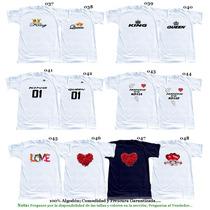 Franelas Personalizadas Día De San Valentin Enamorados Amgos