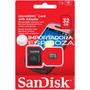 Tarjeta De Memoria Sd Sandisk 32gb Para Fotos Videos Juegos