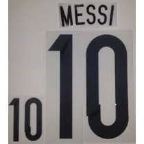 Estampado Argentina Local 2014, # 10 Messi $110