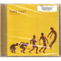 Cd Take That - Progress ( Lacrado )