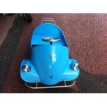 Pedalcar Romizetta- Em Fibra - Azul