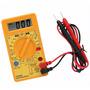 Tester Digital Multimetro C/buzzer Prueba Diodos Dt830d