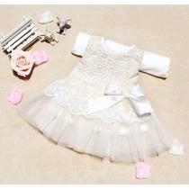 Vestido Infantil Rendado Tamanho 1