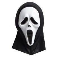 Máscara Pânico Com Capuz Fantasia Halloween