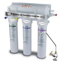 Sistema Purificador Osmosis Inversa 50 Gpd Sin Bomba