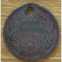 Moneda Chile De 20 Centavos De 1920 De Plata 0.400
