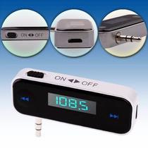 Transmissor Fm Stereo Para Celular Smartphone E Hiphone.
