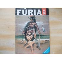 Revista Fúria Sex Nº 04 - Quadrinhos Eróticos