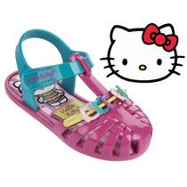 Sandália Melissa Hello Kitty Pirueta Grendene 21403