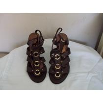 Zapatos Talla 38 En Color Marrón