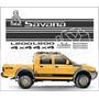 Adesivo Faixa Pajero Mitsubishi L200 Savana Dakar - Decalx