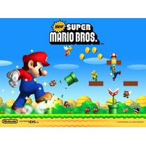 Kit Imprimible Mario Bros Fiesta Cumpleaños Torta Recuerdo