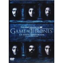 Game Of Thrones Juego De Tronos Temporada 6 Seis Sexta Dvd