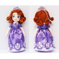 Boneca Pelúcia Princesa Sofia