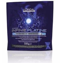 Loreal Infinie Platine Pró Keratin Pó Descolorante 500g