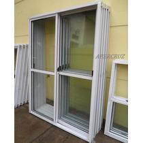 Puerta Ventana Balcon Aluminio Blanco 180x200 Vidrio Entero