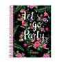Caderno Femme Feminino Universitário Capa Dura 10 Matérias