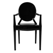 Cadeira Sofia Louis Ghost Com Braço