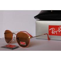 Gafas Rb Modelo Round Metal Flash Rb3447