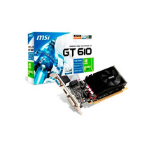 Tarjeta De Video Evga Nvidia Geforce Gt610 2gb