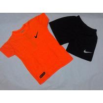 Conjunto Nike Para Niños Tela Drifit