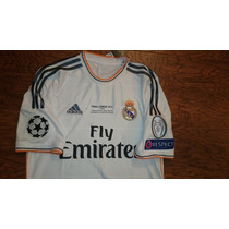 Jersey Real Madrid 2014 Final Champions League Original Num