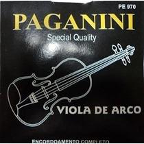 Encordoamento Paganini Para Viola De Arco - Loja