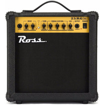 Amplificador P/ Guitarra Electrica 25 Watts Ross Reverb
