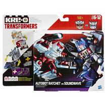 Kre-o Transformers Tf Conversível - Ratchet & Soundwave
