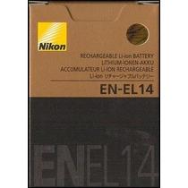 Bateria En-el14 Nikon Original Envio Gratis