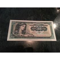 Billete Yugoslavia 500 Dinar 1955 P 70 Unc