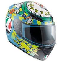 Casco Pista Agv K3 Wake Up Moto Gp Valentino Rossi