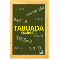 Super Kit Com 10 Tabuadas Brasileitura Compre Ja Me