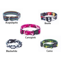 Collar Para Perro M, L Y Xl Marca Dexter Con Diseño