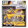 Mini Maquinas Cat Grua ,camion Caterpillar Packx5 Intek