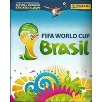 Figurinhas Album Copa Do Mundo 2014 Todas Disponivel