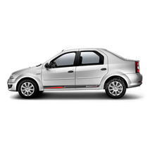 Kit Faixas Adesivos Renault Logan Sport - Imprimax -decalx