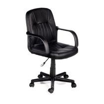 Cadeira Secretária Giratória Com Braços Regulagem Altura Gás