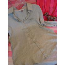 Victorias Secret The Silk Bluson Bata Dormir 100% Seda Sz S
