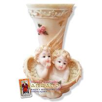 Florerito De Angelito - Ceramica Y Resina