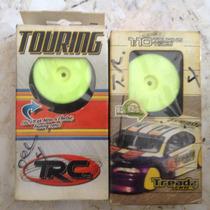 4 Rc Llantas De Touring 1/10 Para Pista De Fom(o Fomi) Rc