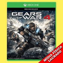 Gears Of War 4 Xbox One Mídia Física Pré Venda
